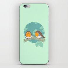 European Robins iPhone & iPod Skin