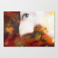 Interrogate  Canvas Print