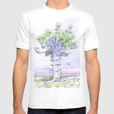 La Citta' albero... Mens Fitted Tee White SMALL
