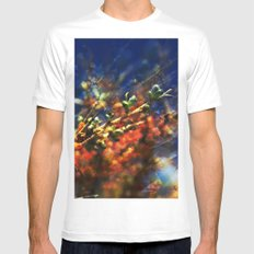 infinite fruits Mens Fitted Tee SMALL White