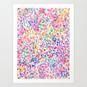 Lighthearted (Pastel) Art Print