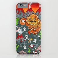 Volcano Lands iPhone 6 Slim Case