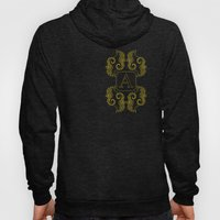 Letter A Seahorse Hoody