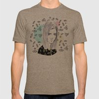 you are my geometric desire... Mens Fitted Tee Tri-Coffee SMALL