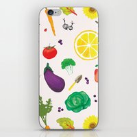 Delicious Vegetables iPhone & iPod Skin