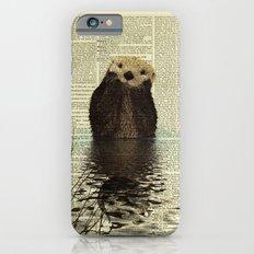 Otter in Love Slim Case iPhone 6s