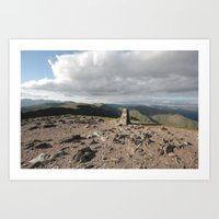 Lake District England Art Print