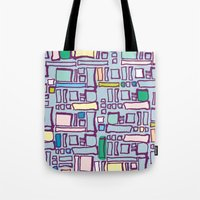 Blocked Tote Bag