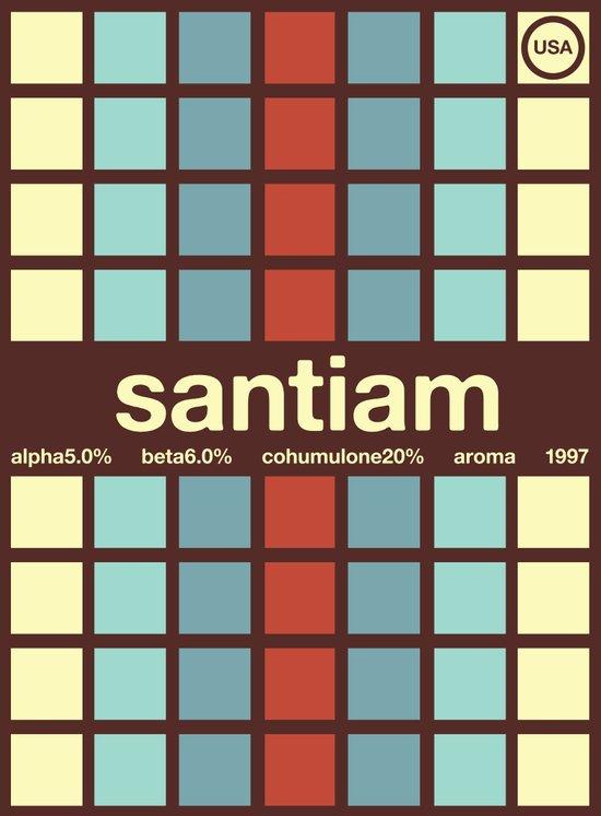 santiam single hop Canvas Print