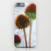 Stripped Echinacea iPhone 6 Slim Case