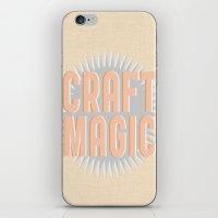 Craft Magic // Coral iPhone & iPod Skin