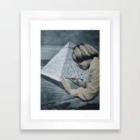 Collage 15 Framed Art Print