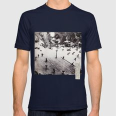 Fun Times Mens Fitted Tee Navy SMALL