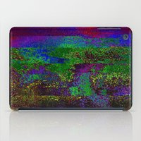 66-84-01 (Earth Night Gl… iPad Case