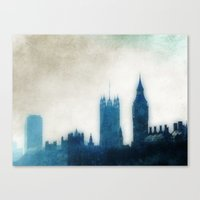 The Many Steepled London… Canvas Print