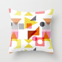 PlayBlocks Throw Pillow