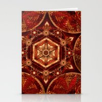 Meditation in Copper Stationery Cards