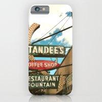 Chicago ~ Standee's Diner ~ Vintage Neon Sign iPhone 6 Slim Case