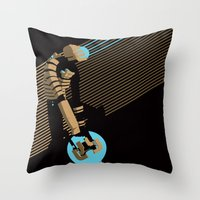 The Engineer Throw Pillow