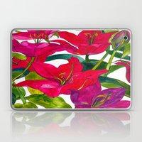 Pink Lilies Laptop & iPad Skin