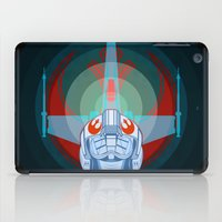 Red leader standing by iPad Case