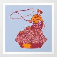 Spaghetti Western Art Print