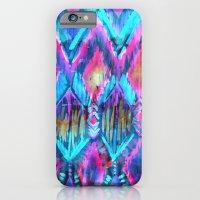 Ikat #32 Aqua iPhone 6 Slim Case