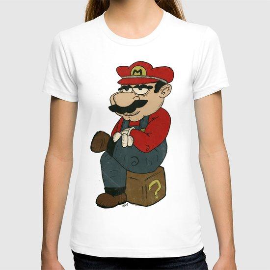 Super Bored Mario T-shirt