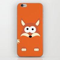 Minimal Fox iPhone & iPod Skin