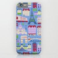 iPhone & iPod Case featuring J'adore Paris by AllisonBeilke