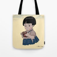 Grave of the Fireflies (Hotaru no haka) Tote Bag