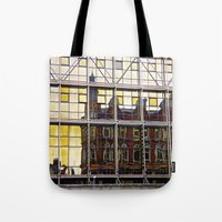 Reflections of Old Belfast Tote Bag