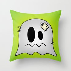 Cute Little Ghost Throw Pillow