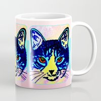 Pop Art Cat No. 2 Mug