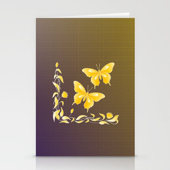 Fly At Dwan Stationery Card