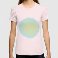 Chloe Womens Fitted Tee Light Pink SMALL