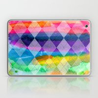 Argyle and Watercolor Abstract Laptop & iPad Skin