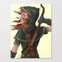 Archer Canvas Print