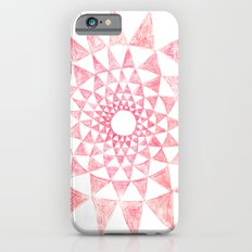 mandala:triangles iPhone 6s Slim Case