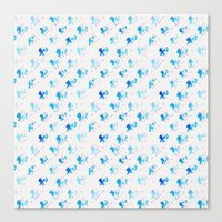 Day 001: Margot's Daily Pattern Canvas Print