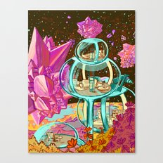 Space Vacation Home Canvas Print