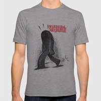 Sasquatch Mens Fitted Tee Athletic Grey SMALL