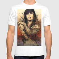 Kat Von D Mens Fitted Tee SMALL White