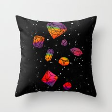 DIAMONDS IN THE SKY Throw Pillow