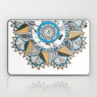 Gold & Turquoise Mandala Laptop & iPad Skin