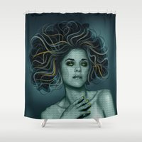 Gorgon Medusa Shower Curtain