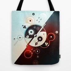 Ying-Yang Blue Version Tote Bag