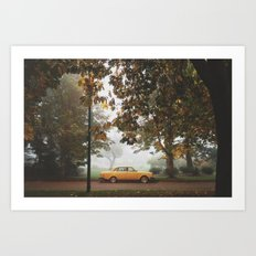 Yellow on Yellow Art Print