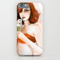 iPhone & iPod Case featuring red by semaiscan
