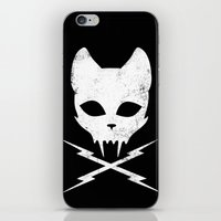 Stunt Kitty iPhone & iPod Skin